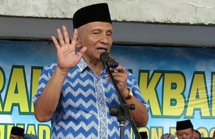 Amien Desak KPK Turun, 29 Elemen Masyarakat Demo di Kepatihan