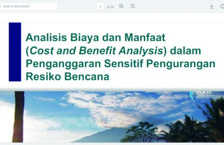Tools Cost and Benefit Analysis untuk PRB