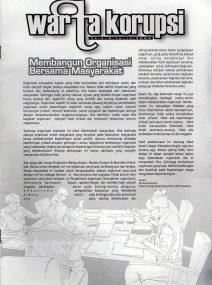 Warta Korupsi Edisi 8 Mei/2002