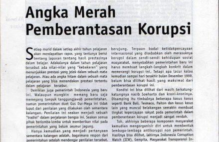 Warta Korupsi Edisi Jan/2000