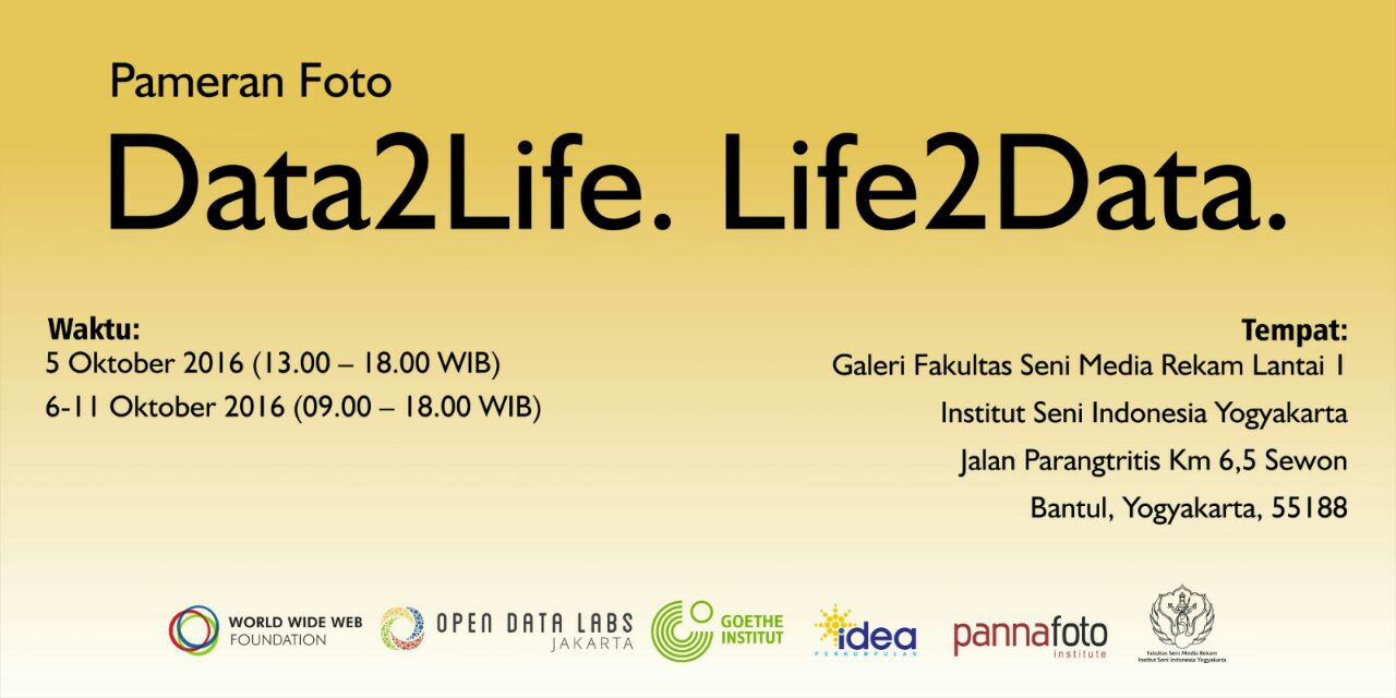 Pameran Foto Data2Life-Life2Data