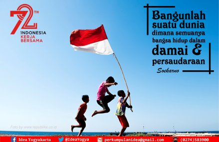 HUT Republik Indonesia ke-72