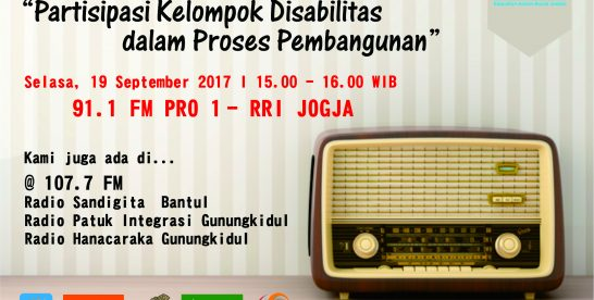 Partisipasi Kelompok Disabilitas