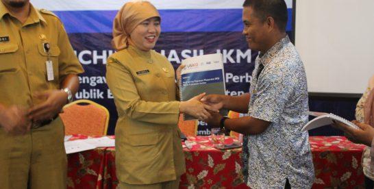 Launching Hasil Survey Kepuasan Masyarakat