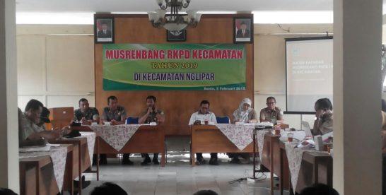 Kecamatan Nglipar Bahas Tiga Isu Prioritas dalam Musrenbang RKPD