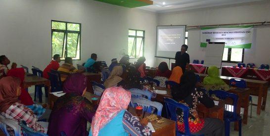 Pelatihan Menyusun Rencana Strategis Bagi Kelompok Rentan Kembali Diberikan IDEA di Gunung Kidul