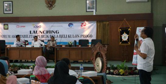 IDEA dan Pemkab Kulon Progo Launching Forum Akuntabilitas Publik Kulon Progo