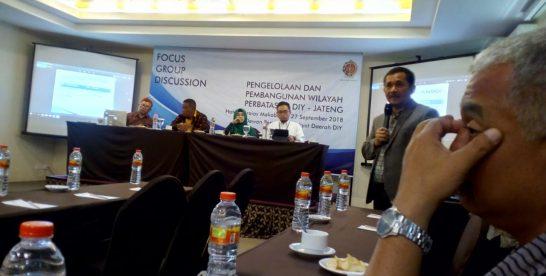 Tiga Isu Strategis yang Disoroti DPRD DIY Dalam Draf Raperda Pembangunan Wilayah Perbatasan