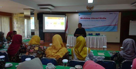 Melalui Aplikasi Atmago, IDEA Yogyakarta Giatkan Literasi Media untuk Perempuan