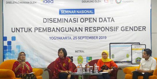 Siaran Pers: Diseminasi Open Data untuk Pembangunan Responsif Gender